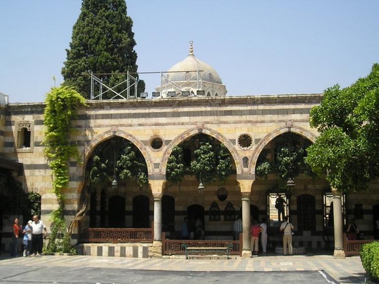 El plació de al-Azem. FOTO: SANA