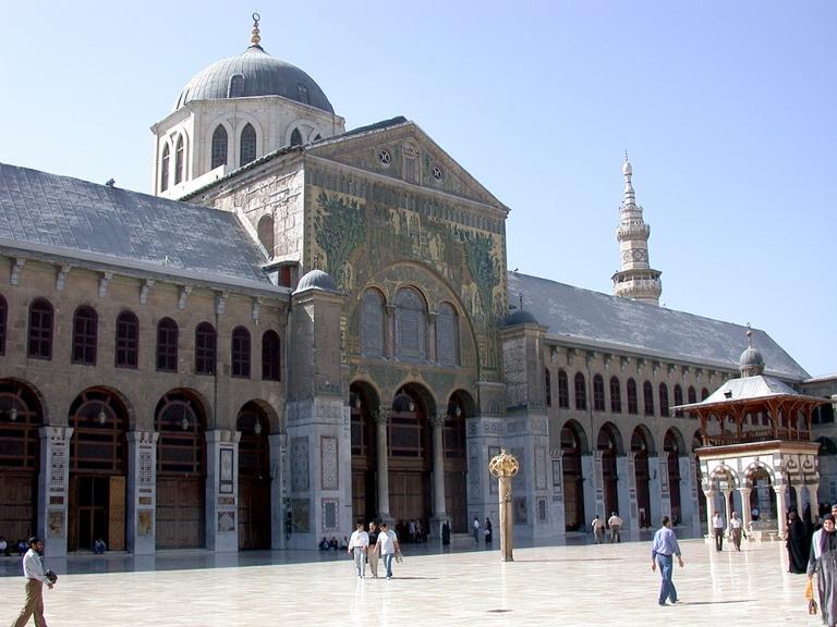 La gran mezquita de omeya. FOTO: SANA