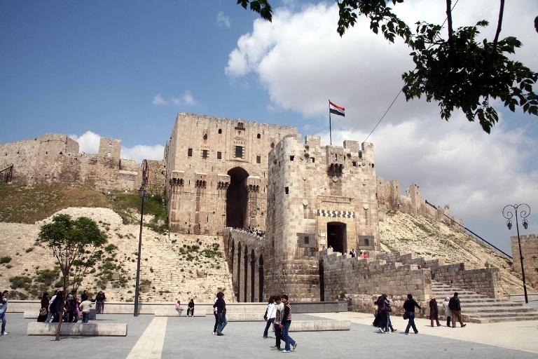 El castillo de Alepo. FOTO: SANA