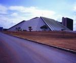 El Teatro Nacional de Brasilia. Foto:niemeyer.org.br
