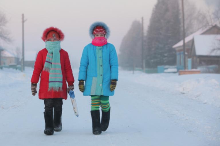 Regiones rusas viven en frio más intenso en 70 años. FOTO: Rusia Today.
