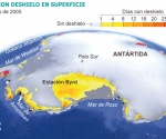 Antártida. Fuente: G. Picard (LGGE). / EL PAÍS