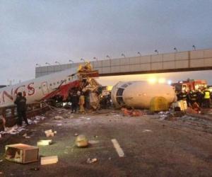 accidente avión ruso