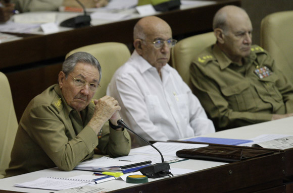 Preside Raúl Castro Sesión Ordinaria de la Asamblea Nacional. Foto: Ismael Francisco/Cubadebate.