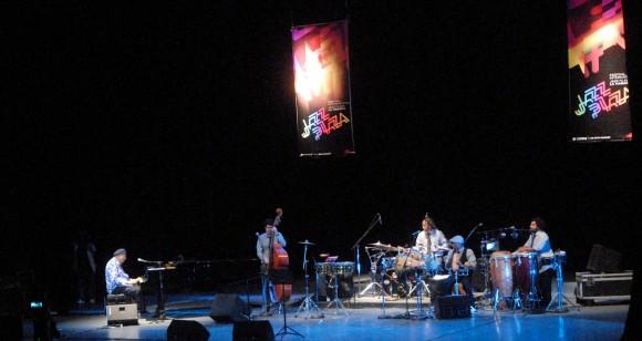 Chucho Valdés y su grupo, inauguración Festival Jazz Plaza 2012. Foto:  Oriol de la Cruz/ AIN