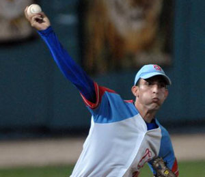 Yander apagó a los Indios. Foto: Marcelino Vázquez/AIN.
