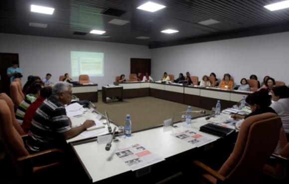 Reunión de diputados cubanos
