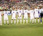Equipo cubano en la Copa del Caribe de Fútbol. Foto: PL