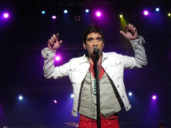 """David Blanco en el Concierto """"El nuevo mundo"""" en el Teatro Karl Marx, 22 de diciembre de 2012. Foto: Marianela Dufflar/Cubadebate"""