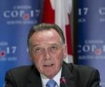 Ministro del Medio Ambiente, Peter Kent, justificó la decisión de su Gobierno.