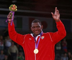 Best Wrestler in the World Cuban Lopez Wins in Veracruz Games
