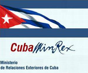 MINREX: EEUU debe cesar sus acciones subversivas, ilegales y encubiertas contra Cuba