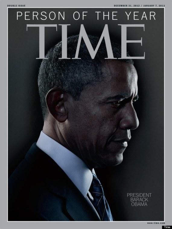 Barack Obama. Cubierta de la revista Time.