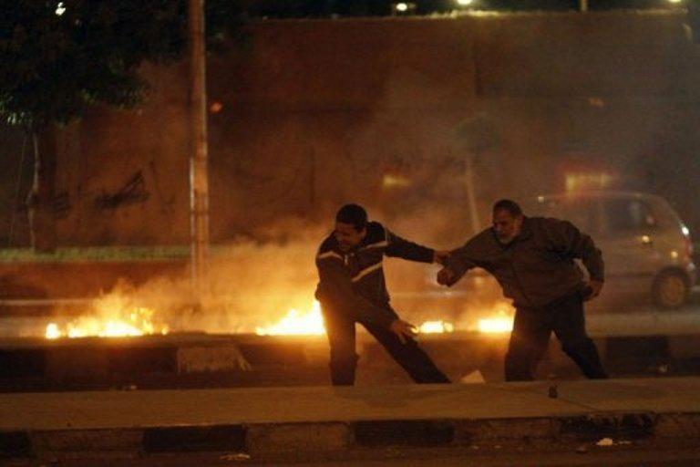 Manifestaciones en Egipto. FOTO: AFP