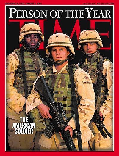 """El soldado """"americano""""."""
