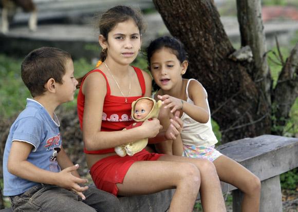 Niños de Santo Tomás. Foto: Ismael Francisco/Cubadebate.