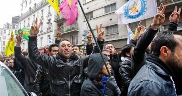 Protestas ante el atroz asesinato.