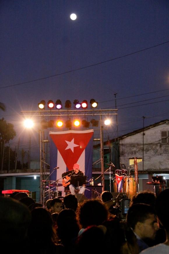 Concierto en noche invernal. Foto: Alejandro Ramírez Anderson.