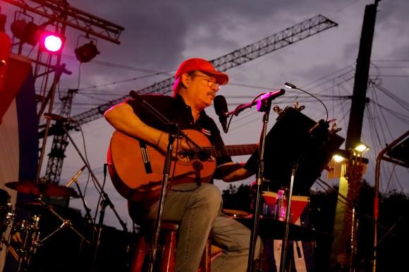 """Norbis: """"Silvio se ha ganado el respeto del pueblo. Me gustan sus canciones porque tienen un sentido. Dicen algo"""". Foto: Alejandro Ramírez Anderson."""