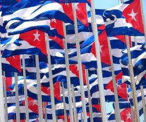 banderas cubanas