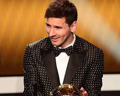 Messi y su 4to Balón de Oro