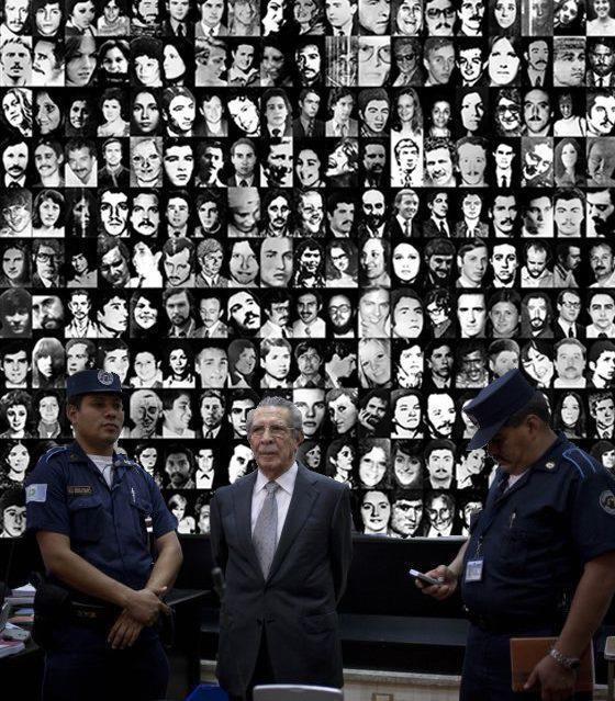 José Efraín Ríos Montt es juzgado.