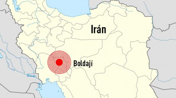 Sismo en Irán