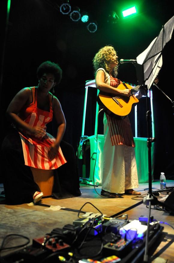Yusa y Ana Prada. Foto: Kaloian.