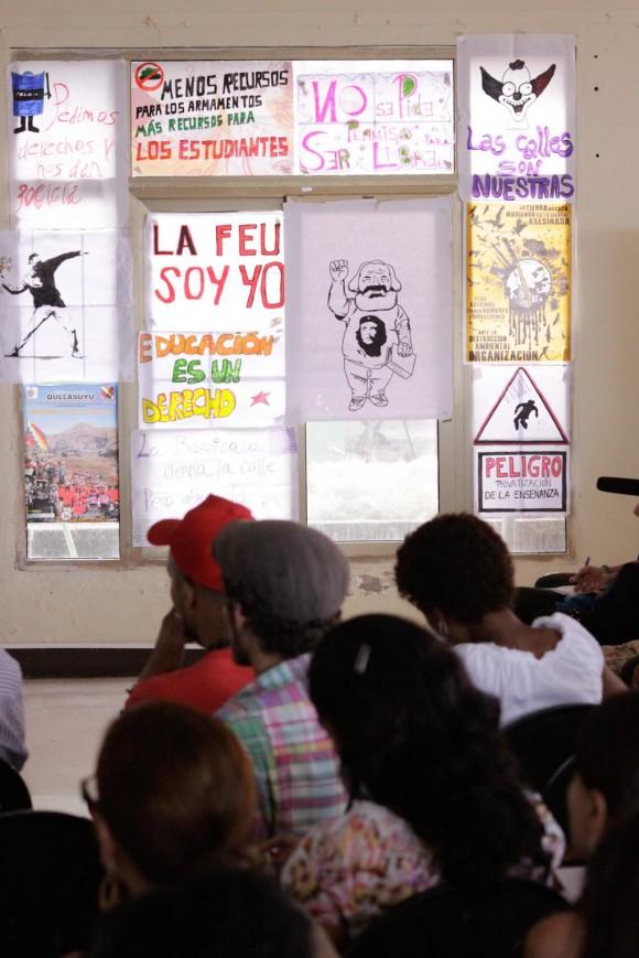 Plenaria del Taller. Foto: Alejandro Ramírez Anderson.