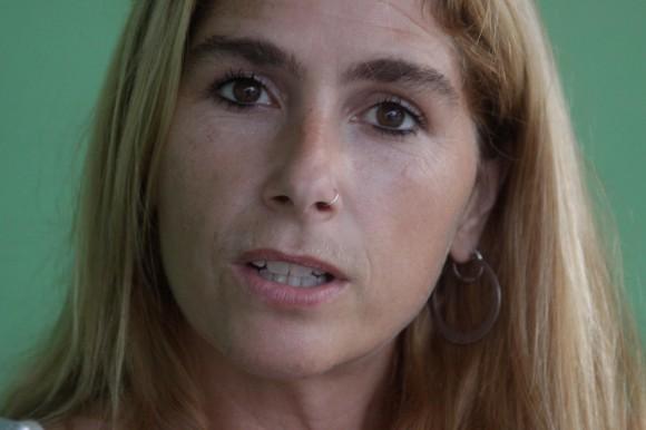 Marina Sitrin, de Estados Unidos. Foto: Alejandro Ramírez Anderson.
