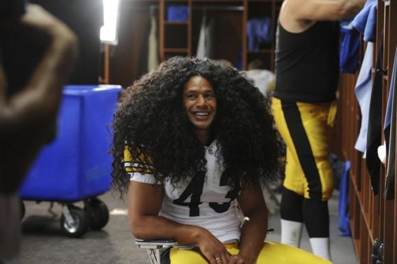 Foto: El jugador de los Pittsburgh Steelers, Troy Polamalu/mundodeportivo