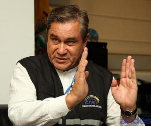 Domingo Paredes, Presidente del Consejo Nacional Electoral de Ecuador