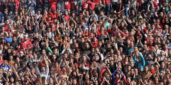 Manifestantes en Port Said. Foto: EFE.