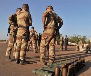Militares franceses durante la intervención en Mali. Foto: Archivo