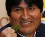 Evo celebra despenalización de la coca.