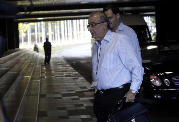 El representante del Gobierno colombiano Humberto La Calle. Foto: Ismael Francisco/cubadebate.