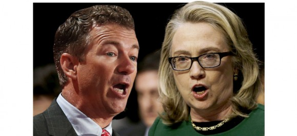 Rand Paul-Hillary Clinton