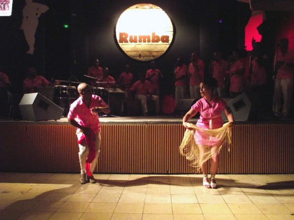 Rumbatá, grupo musical danzario de Camaguey, mostró su arte en la presentación de su segunda producción discográfica, en el Palacio de la Rumba. Foto. Marianela Dufflar/Cubadebate