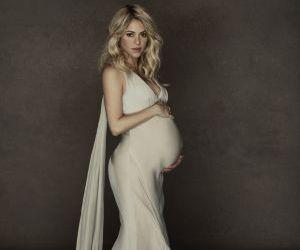 La cantante colombiana Shakira embarazada