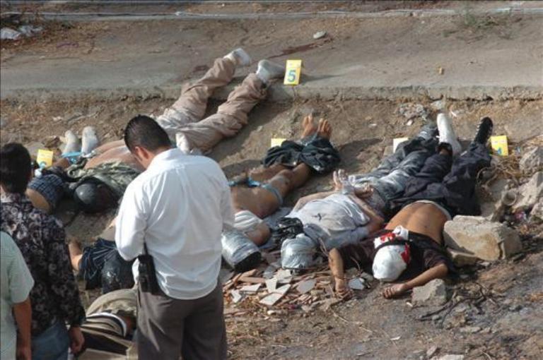 México cierra 2012 con alto índice de violencia.