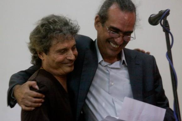 Chicoy junto a Eduardo Martín. Foto: Alejandro Ramírez Anderson.
