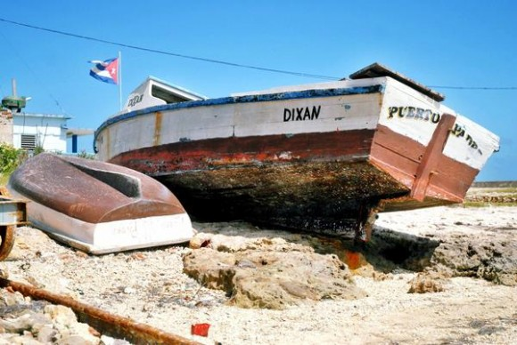 Imágenes de la zona costera del litoral norte tunero del municipio de Puerto Padre, en la oriental provincia de Las Tunas, Cuba, el 25 de febrero de 2013. AIN/FOTO/Yaciel Peña de la Peña