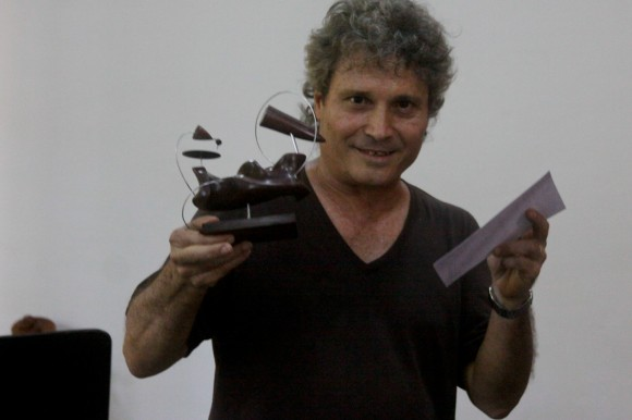 Cubadisco otorgó a Chicoy Premio por la Obra de Toda la Vida. Foto: Alejandro Ramírez Anderson.