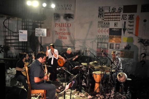 Concierto de Liliana Herrero en el Centro Pablo. La Habana, Cuba. Fotos: Kaloian Santos Cabrera.