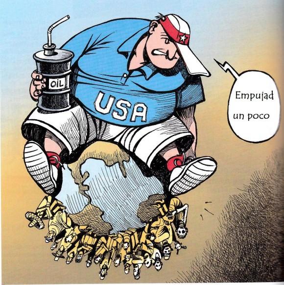 Estados Unidos impone su patrón cultural