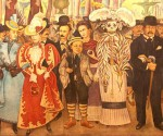 El famoso mural de Diego Rivera.