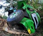 Imágen del camión accidentado en Cienfuegos