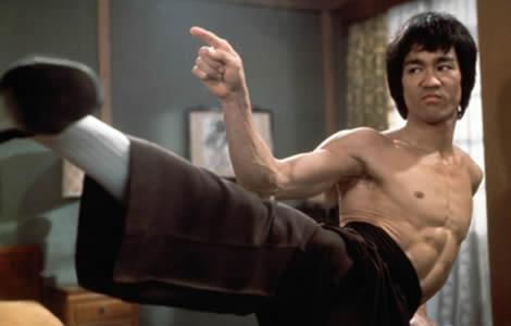 Bruce Lee golpeaba tan rápido que había que ralentizar las grabaciones  de sus luchas