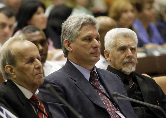 Díaz Canel, primer Vicepresidente. Foto: Ismael Francisco/Cubadebate.