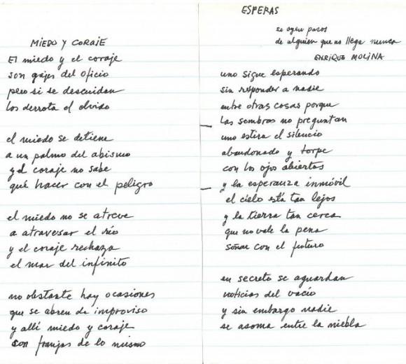 """""""Esperas"""" y """"Miedo y Coraje"""""""